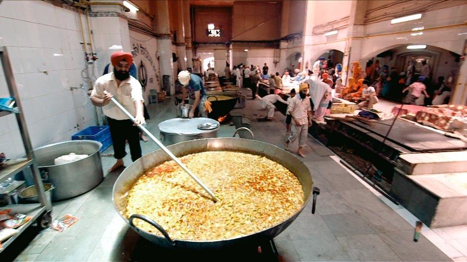 temple kitchen in Delhi