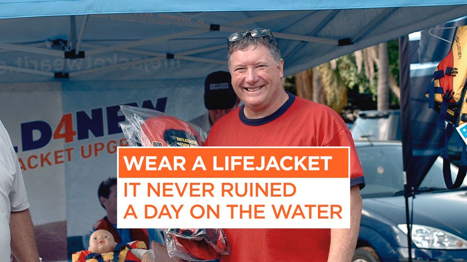 NSW Martime lifejacket safety campaign