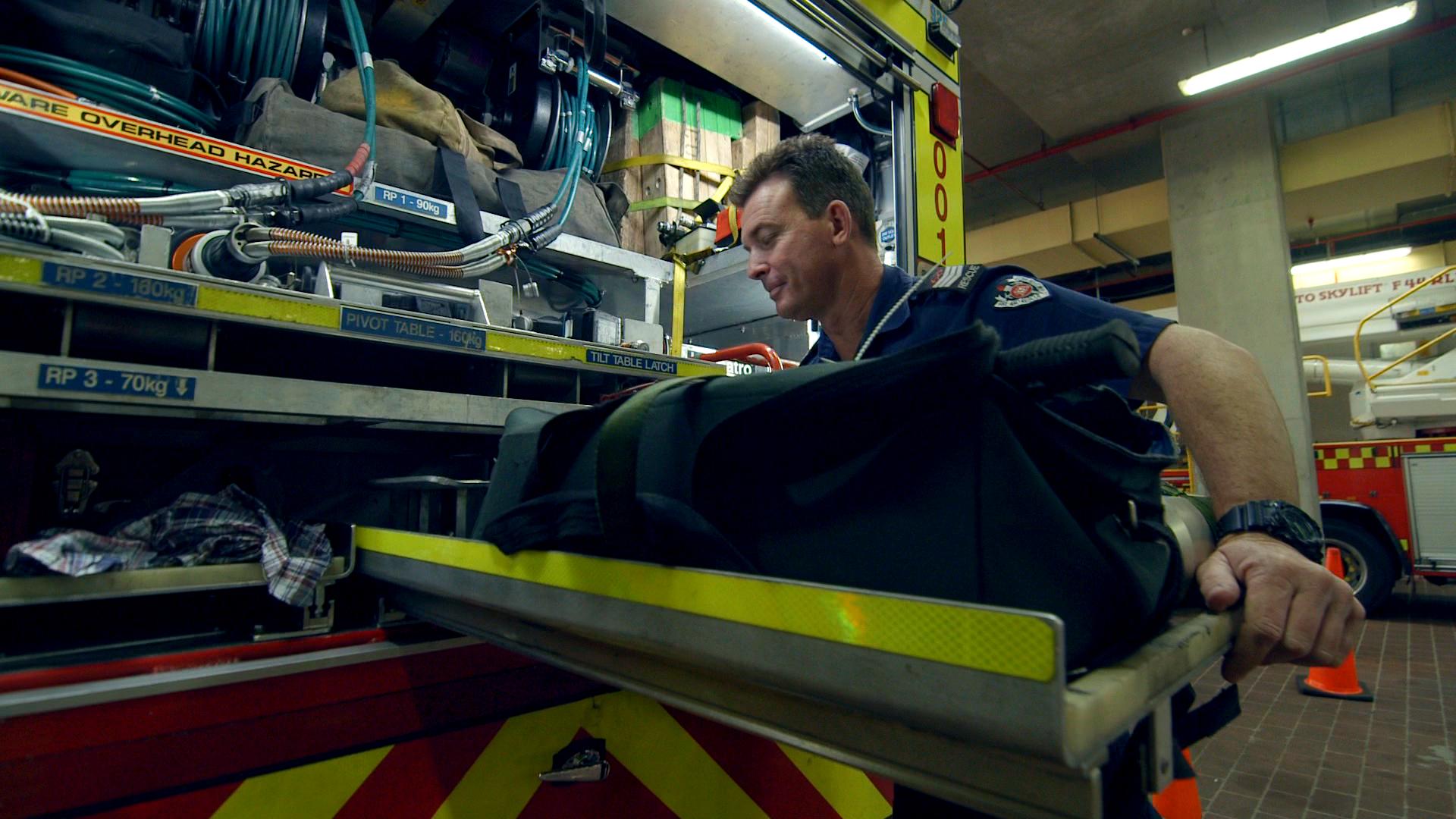Poster boy for early mental health intervention, firefighter Peter Kirwan
